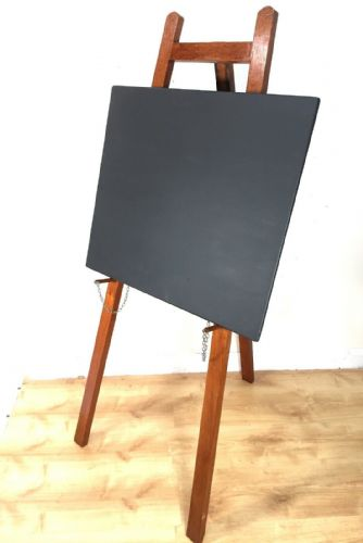 Vintage Wooden Easel And Blackboard / Shop Display / Restaurant Menu Board